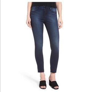Articles of Society Karly Cut Off Hem Skinny Jeans
